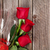 valentines day roses bouquet and champagne stock photo © karandaev