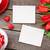 red tulips gift box and valentines day photos stock photo © karandaev