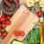 friss · hozzávalók · főzés · tészta · paradicsom · gomba - stock fotó © karandaev