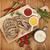 mustár · étel · háttér · szakács · mag · hozzávaló - stock fotó © karandaev