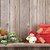 Christmas gift boxes and snowman toy stock photo © karandaev