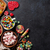 frutta · gelatina · candy · rosso · forcella · dolce - foto d'archivio © karandaev