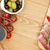 alimentos · tomates · pão · com · alho · saúde · pão · vermelho - foto stock © karandaev