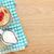 Healty breakfast with muesli, berries and milk stock photo © karandaev