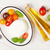 mozzarella tomatoes basil and olive oil stock photo © karandaev