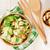 Салат · куриные · помидоров · оливками · пластина · продовольствие - Сток-фото © karandaev