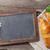 blackboard and croissants stock photo © karandaev