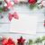 natal · cartão · decoração · mesa · de · madeira · topo - foto stock © karandaev