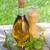新鮮な · ハーブ · スパイス · オリーブオイル · 唐辛子 · シェーカー - ストックフォト © karandaev
