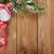 Noel · önemsiz · şey · rustik - stok fotoğraf © karandaev