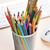 színes · ceruzák · iroda · toll · ceruza · narancs - stock fotó © karandaev