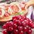 grape prosciutto and mozzarella with red wine stock photo © karandaev