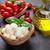 mozzarella · peynir · domates · fesleğen · kiraz · domates · ot - stok fotoğraf © karandaev