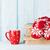 caneca · chocolate · quente · natal · beber · marshmallow - foto stock © karandaev