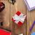 piros · ajándék · doboz · irodaszerek · iroda · asztal · felülnézet - stock fotó © karandaev
