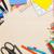 school · schoolbord · pen · potlood · onderwijs - stockfoto © karandaev