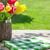 красочный · тюльпаны · красный · ваза · изолированный · белый - Сток-фото © karandaev