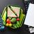 almuerzo · cuadro · hortalizas · sándwich - foto stock © karandaev