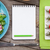 fresh healthy salad tomatoes and notepad for copy space stock photo © karandaev