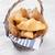 vers · croissants · houten · tafel · exemplaar · ruimte · voedsel - stockfoto © karandaev