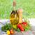 新鮮な · トマト · サラダ · クローズアップ · ボウル - ストックフォト © karandaev