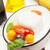 mozzarella · domates · fesleğen · zeytinyağı · ahşap · masa · üst - stok fotoğraf © karandaev