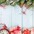 Natale · confine · regali · immagine · illustrazione · biglietto · d'auguri - foto d'archivio © karandaev