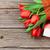 red tulips and gift box stock photo © karandaev