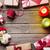 кадр · искусственное · освещение · Рождества · украшение · копия · пространства - Сток-фото © karandaev