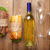 большой · зеленый · стекла · бутылку · вина · белый - Сток-фото © karandaev