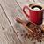 siyah · kahve · süt · esmer · şeker · plaka · kahve · cam - stok fotoğraf © karandaev