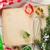 kok · boek · Open · recept · groenten · kruiden - stockfoto © karandaev