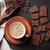 kahve · fincanı · mutfak · havlu · mor · yalıtılmış · beyaz - stok fotoğraf © karandaev