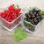 fresco · vermelho · groselha · framboesas · velho · mesa · de · madeira - foto stock © karandaev