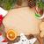 karácsonyi · étel · dekoráció · karácsony · főzés · asztal · fenyőfa - stock fotó © karandaev