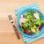 salada · prato · garfo · faca · cinza - foto stock © karandaev