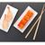 sushi maki and shrimp sushi on black stone stock photo © karandaev