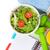 alimentos · saludables · cinta · métrica · bloc · de · notas · espacio · de · la · copia · fitness · salud - foto stock © karandaev