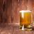 világos · sör · bögre · fa · fából · készült · háttér · bár - stock fotó © karandaev