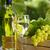 vin · blanc · raisins · bouteille · de · vin · blanc · verre · vigne - photo stock © karandaev