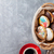 colorful donuts and coffee cup stock photo © karandaev