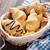 vers · croissants · mand · houten · tafel · tabel · cafe - stockfoto © karandaev