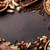 various nuts on stone table stock photo © karandaev