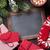 Navidad · chocolate · caliente · mitones · pizarra - foto stock © karandaev