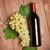 бутылку · белый · виноград · деревянный · стол - Сток-фото © karandaev