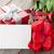 свежие · тюльпаны · шкатулке · деревянный · стол · цветы · весны - Сток-фото © karandaev