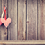 two valentines day hearts on rustic wooden wall foto stock © karandaev