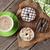 cioccolato · Cup · caffè · fiore · alimentare - foto d'archivio © karandaev