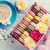 macaroons and coffee sweet macarons in gift box stock photo © karandaev