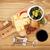 rode · wijn · kaas · brood · olijven · specerijen · geïsoleerd - stockfoto © karandaev
